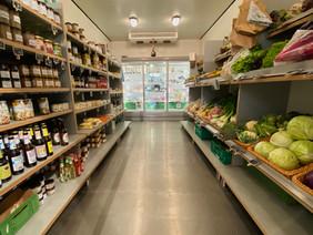 Kühltheke im Boierhofladen