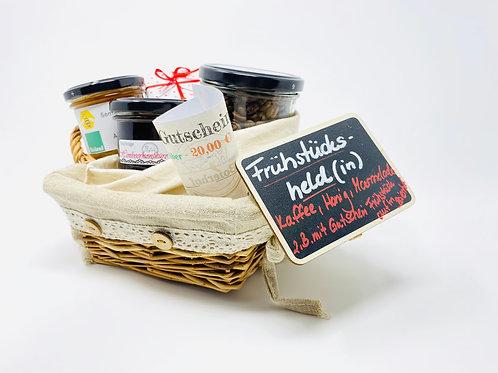 Geschenkkorb Frühstücksheld(in)