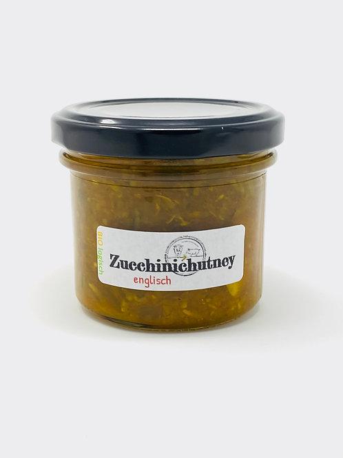 Zucchineychutney, englisch
