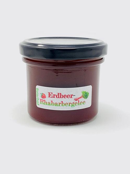 Erdbeer-Rhabarbergelee