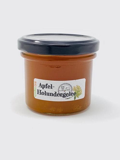 Apfel-Holunderblütengelee
