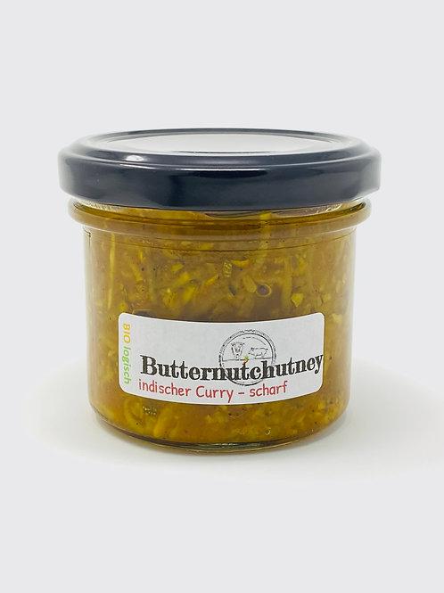 Butternutchutney - indischer Curry, scharf