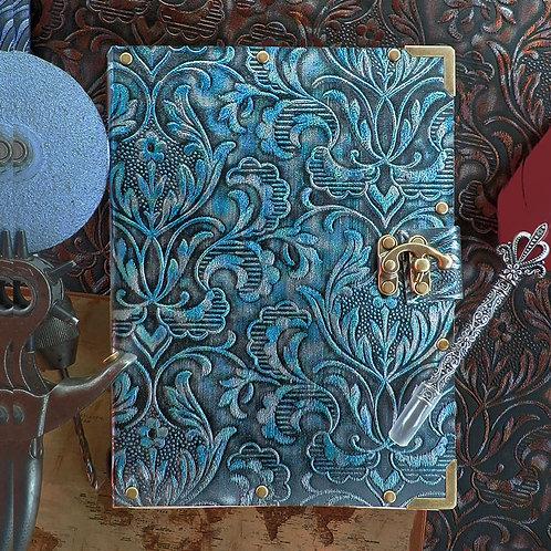 Sienna blue (δερματίνη)