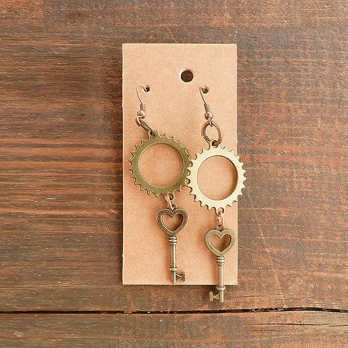 Gear Heart Key 6
