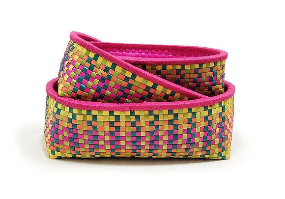 Fruit Basket GD (Oval) - Set of 3