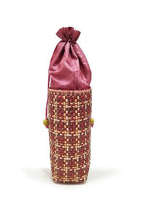 Wine Bottle Holder (Natural dyed)
