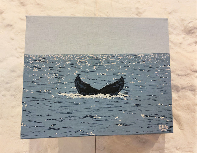 A whale tale.