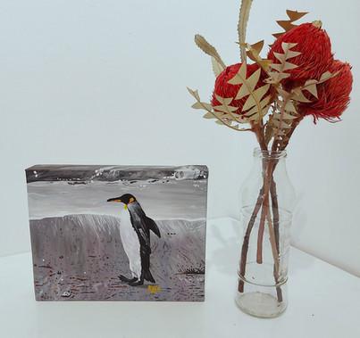 A prompt penguin