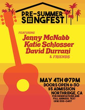 Pre-Summer Songfest