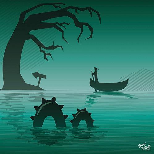Spooky Swampland
