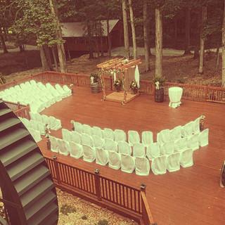 Deck Ceremony Setup