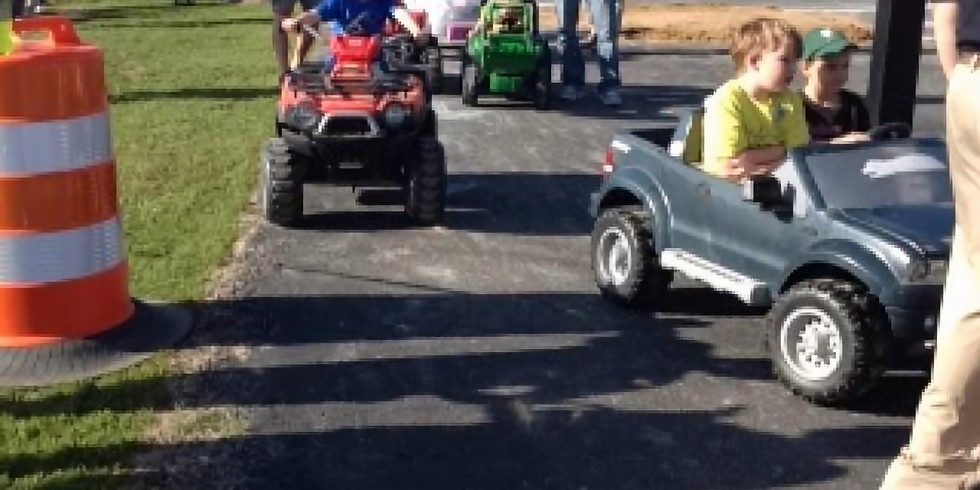 Power Wheels in the Park