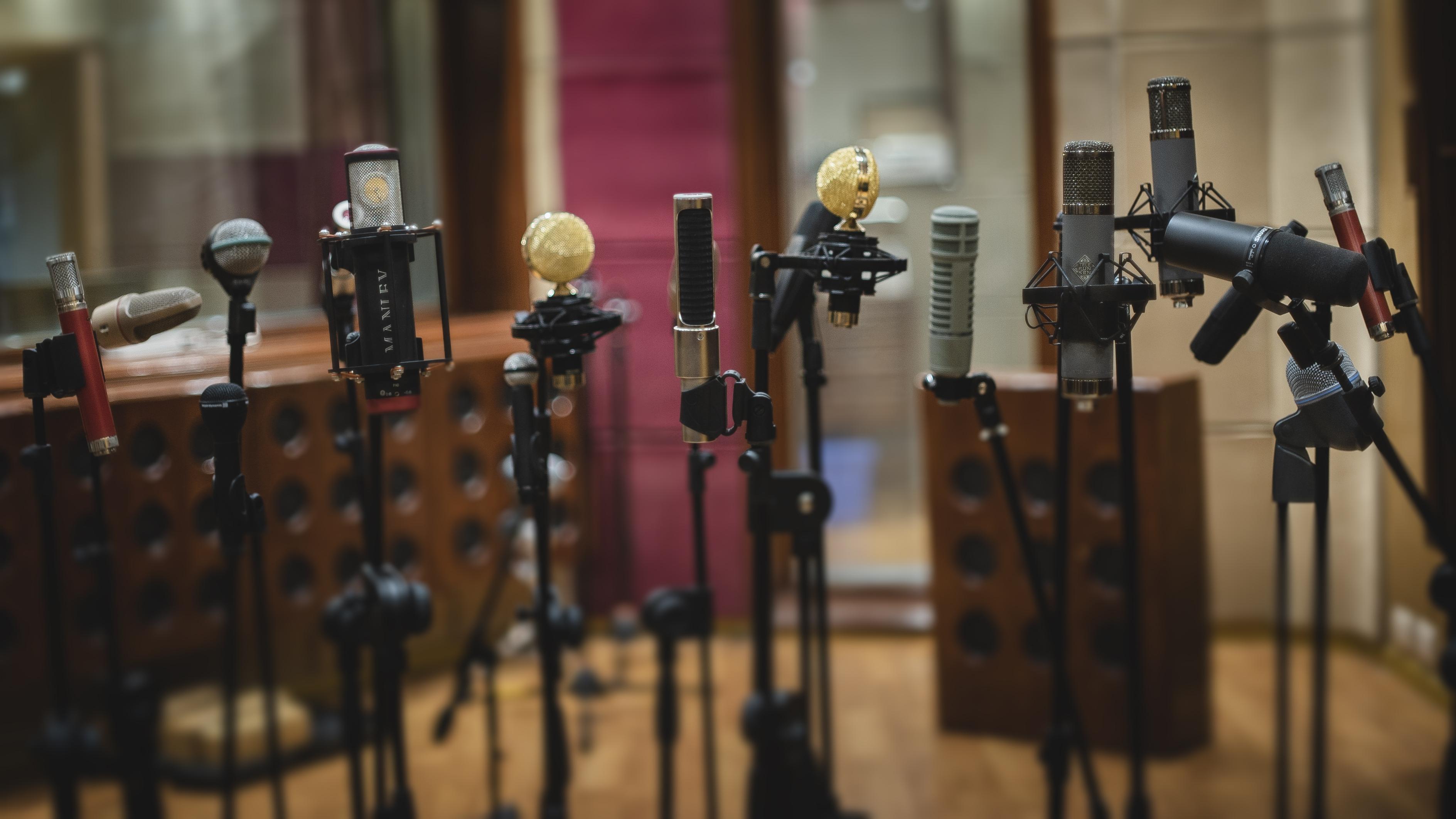 Microfonos Estudios Penny Lane