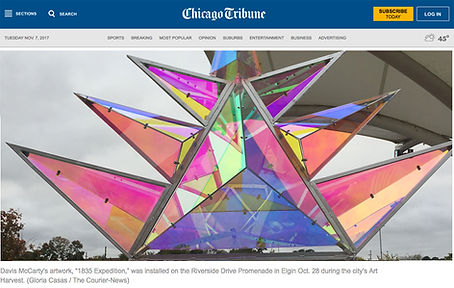 Elgin News Article Chicago Tribune Davis