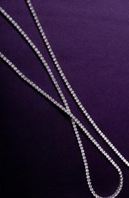 "Sautoir 32"" Diamond Necklace"