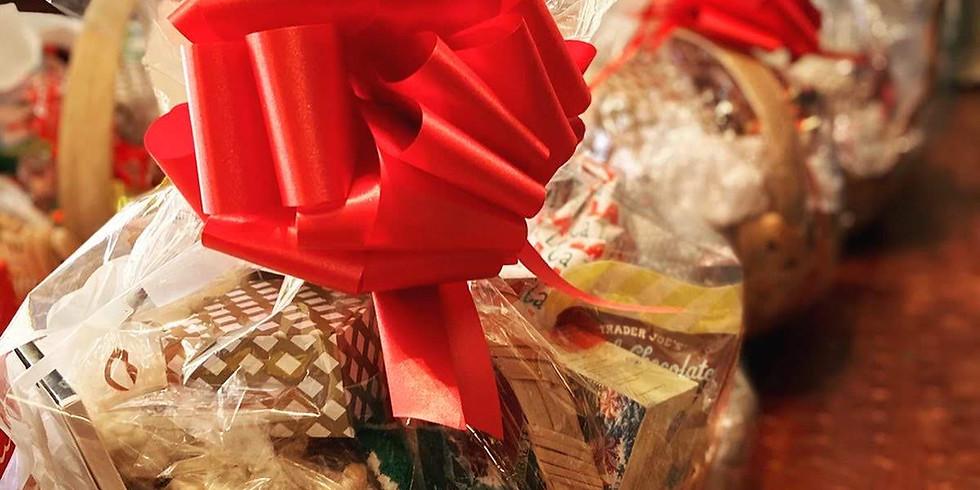 Christmas Gift Basket Assembly