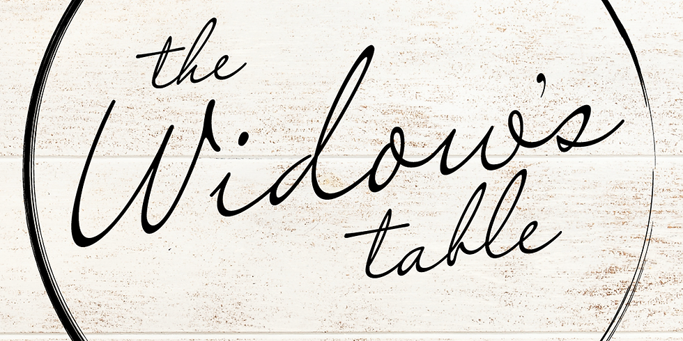 The Widow's Table (1)