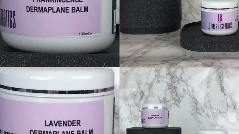 Dermaplane Balm- Frankinsense or Lavender
