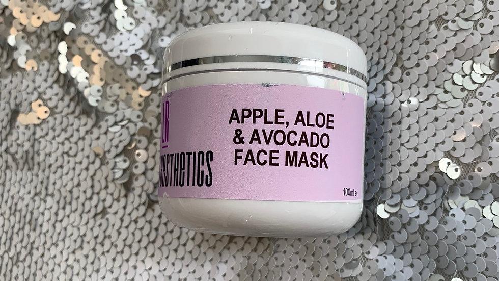Apple, Avocado & Aloe Mask
