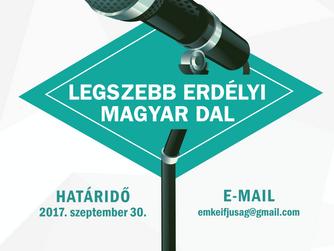 Ismét a legszebb erdélyi magyar dalt keresik