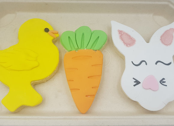 Easter Vanila Sugar Cookie Trio