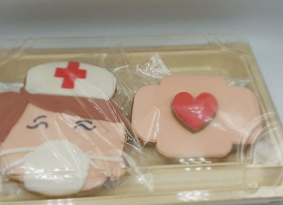 Nurse and Bandaid Gingerbread