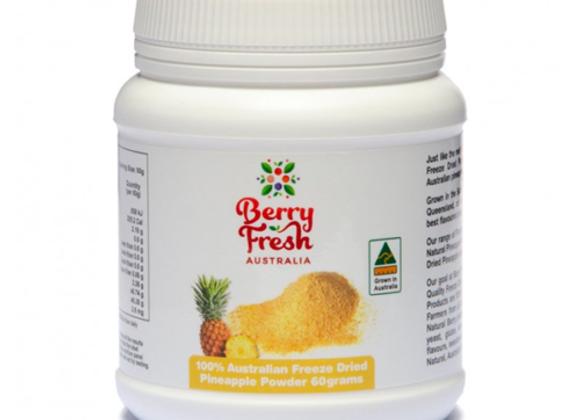 Berry Fresh PINEAPPLE POWDER 60G