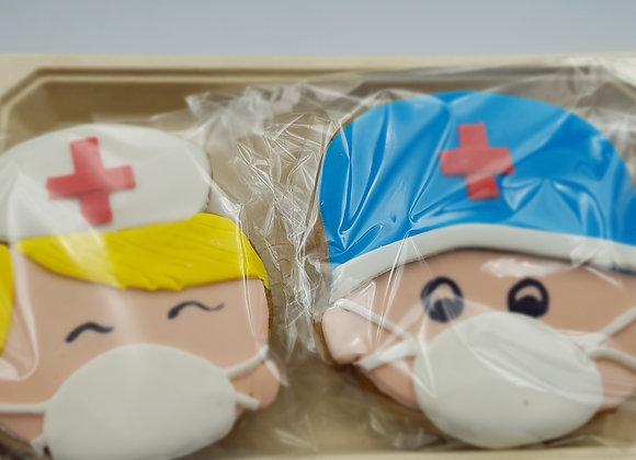 Dr and Nurse Gingerbread