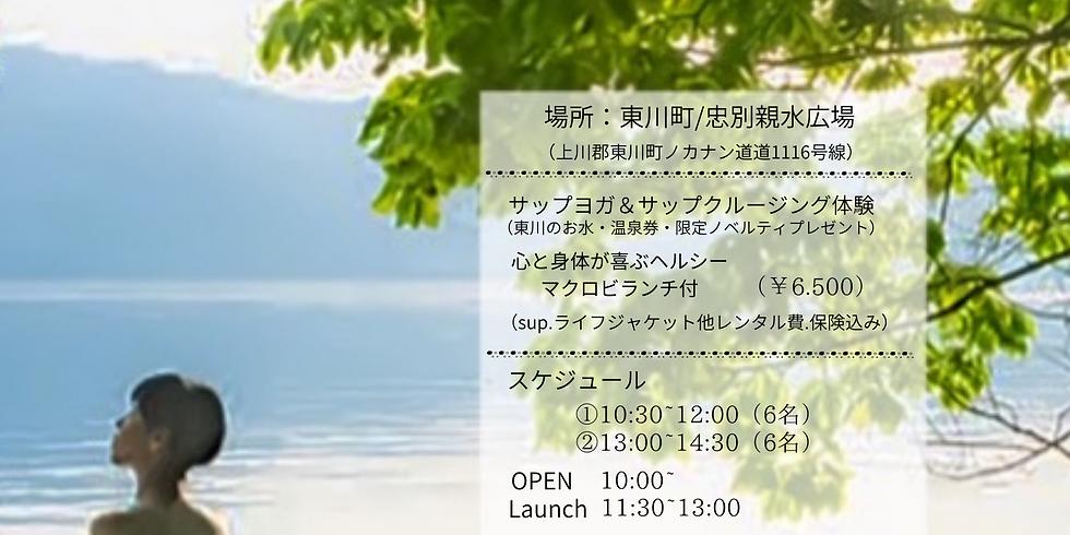 HIGASIKAWA    Sup yoga & Sup crusing  2020