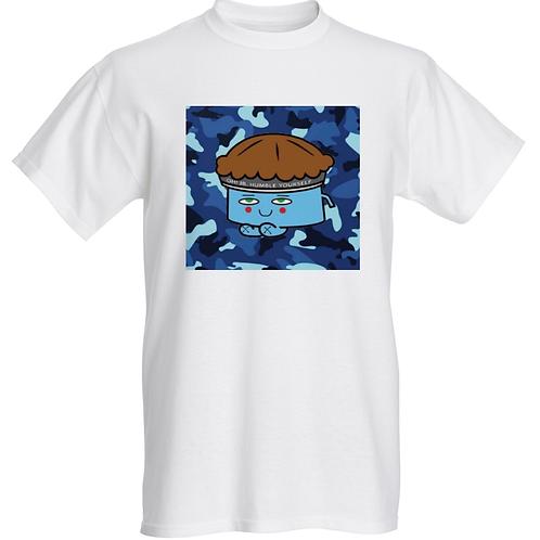 Blue Camo Logo Tee