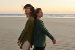 photographe mode et lifestyle pour la collection pret à porter de poncho pour fundy your metanoia à
