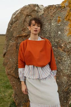 photographe mode pour nolwenn faligot, styliste à rennes
