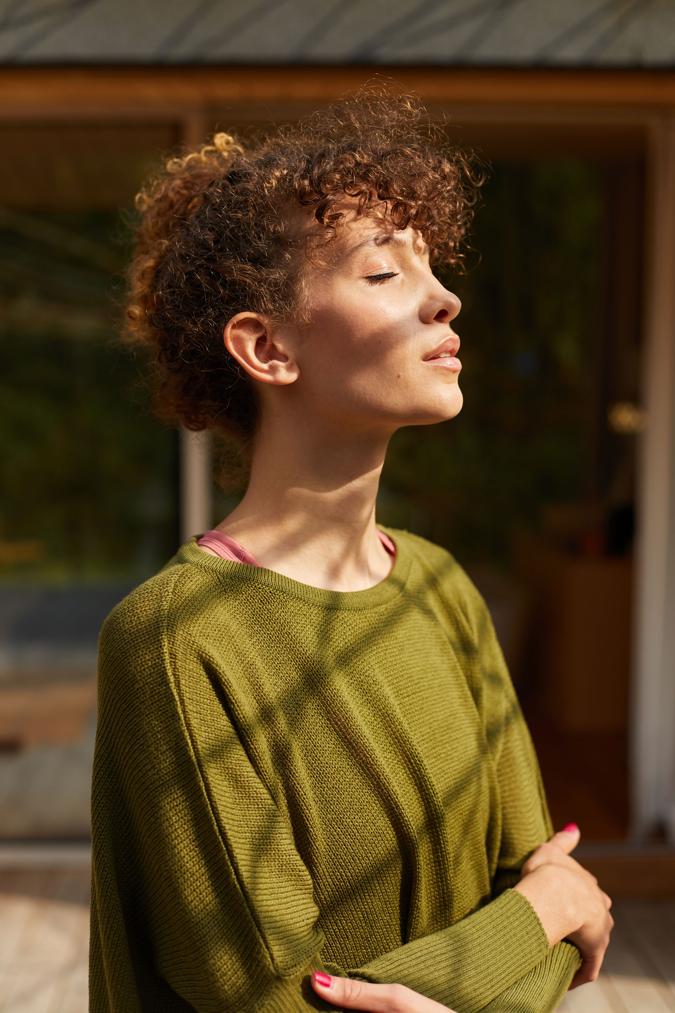 photographe mode et portrait pour une marque de pret à porter en Bretagne