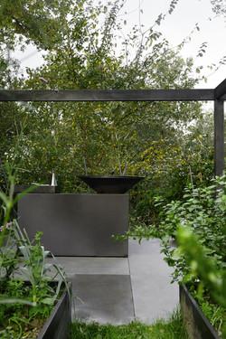 serie photo de terrasse en fond de jardin par Hugo Campion à Brest, Bretagne