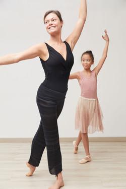photographe en studio pour la marque Dance Fiber, sport, dance et yoga