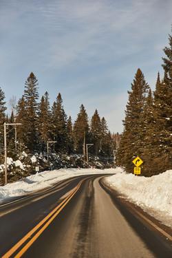 randonnée raquette hiver canada