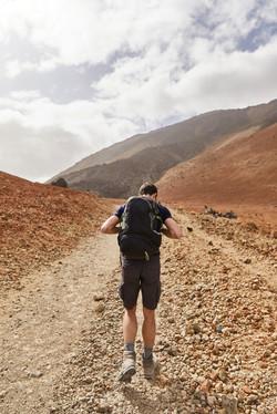 photographe outdoor refuge volcan randonnee reportage