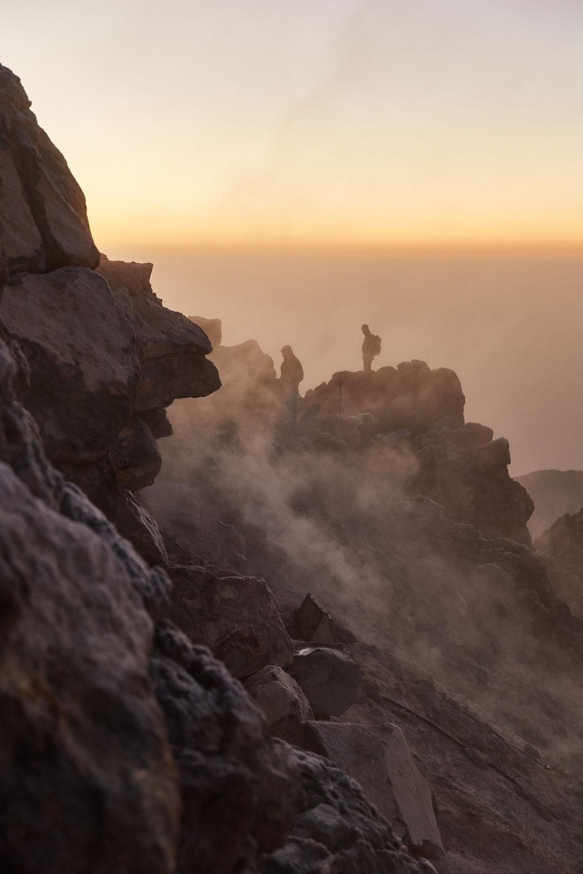 photographe outdoor refuge volcan randonnee reportage vacances