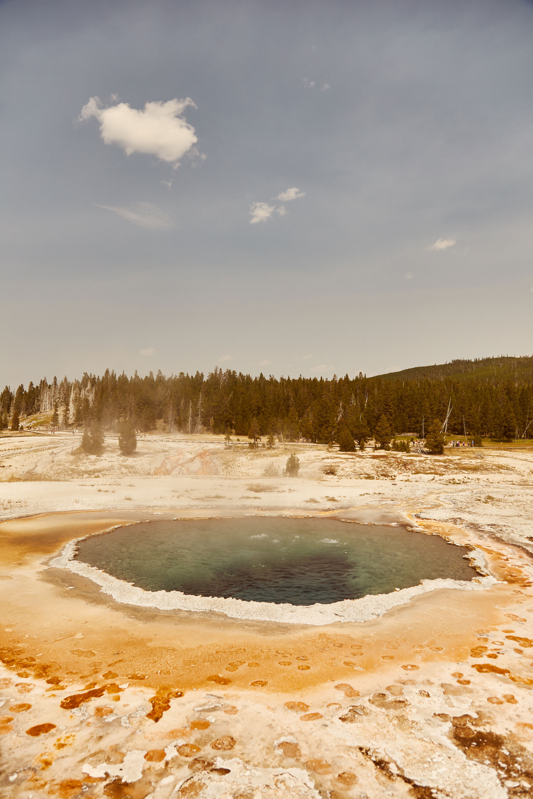 yellowstone usa geothermique