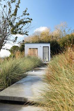 serie photo du jardin à Plomoguer fait par Hugo Campion paysagiste