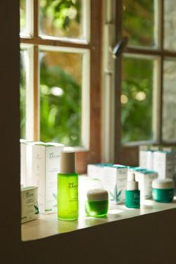 reportage photo pour ho karan, marque de cosmétique à Nantes