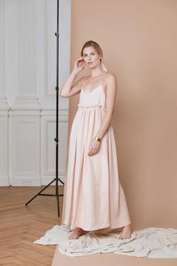 seance photo eshop et lifestyle pour la marque de robe Lou Ty à Quimper