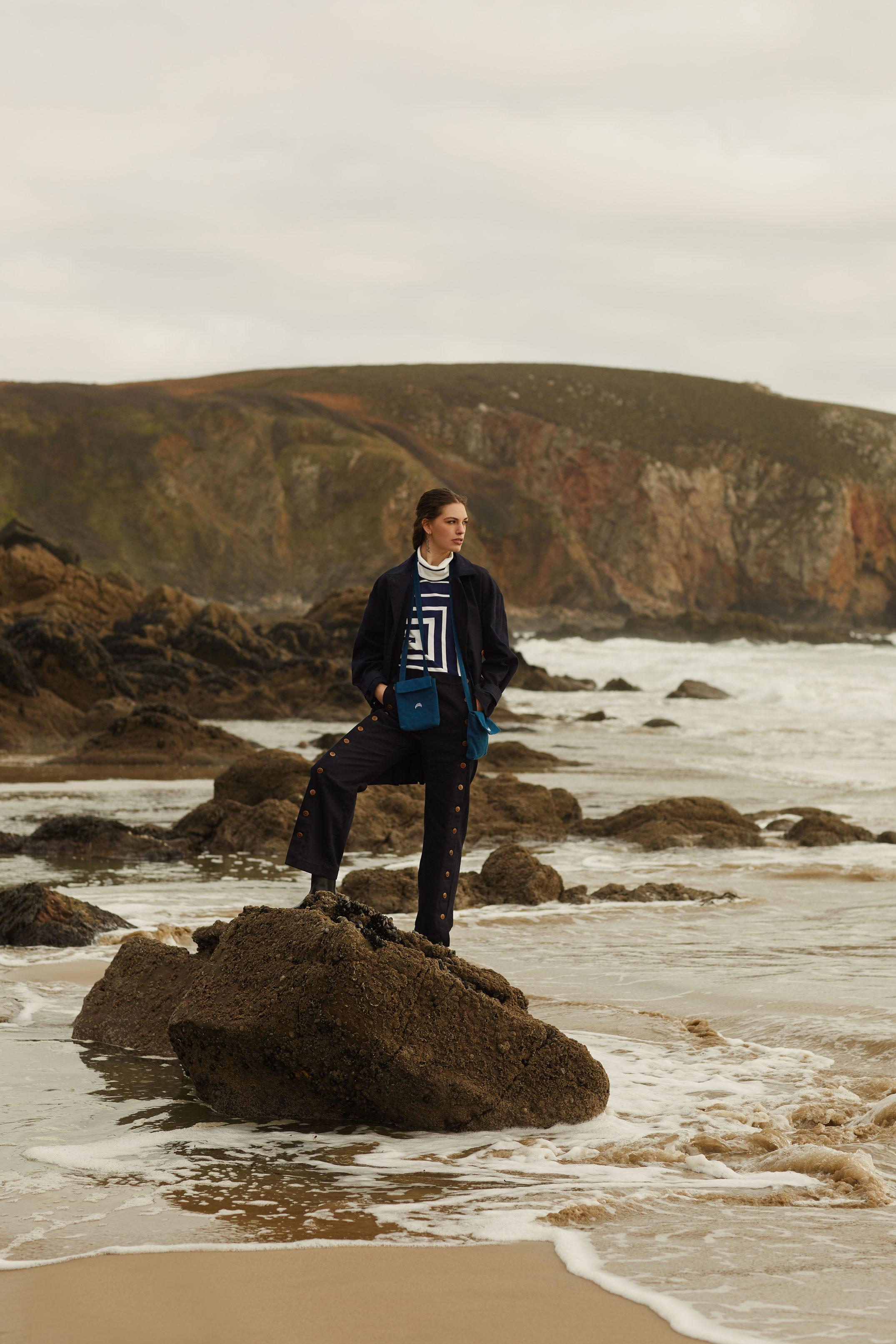 photographe mode et portrait pour une campagne pour nolwenn faligot à brest