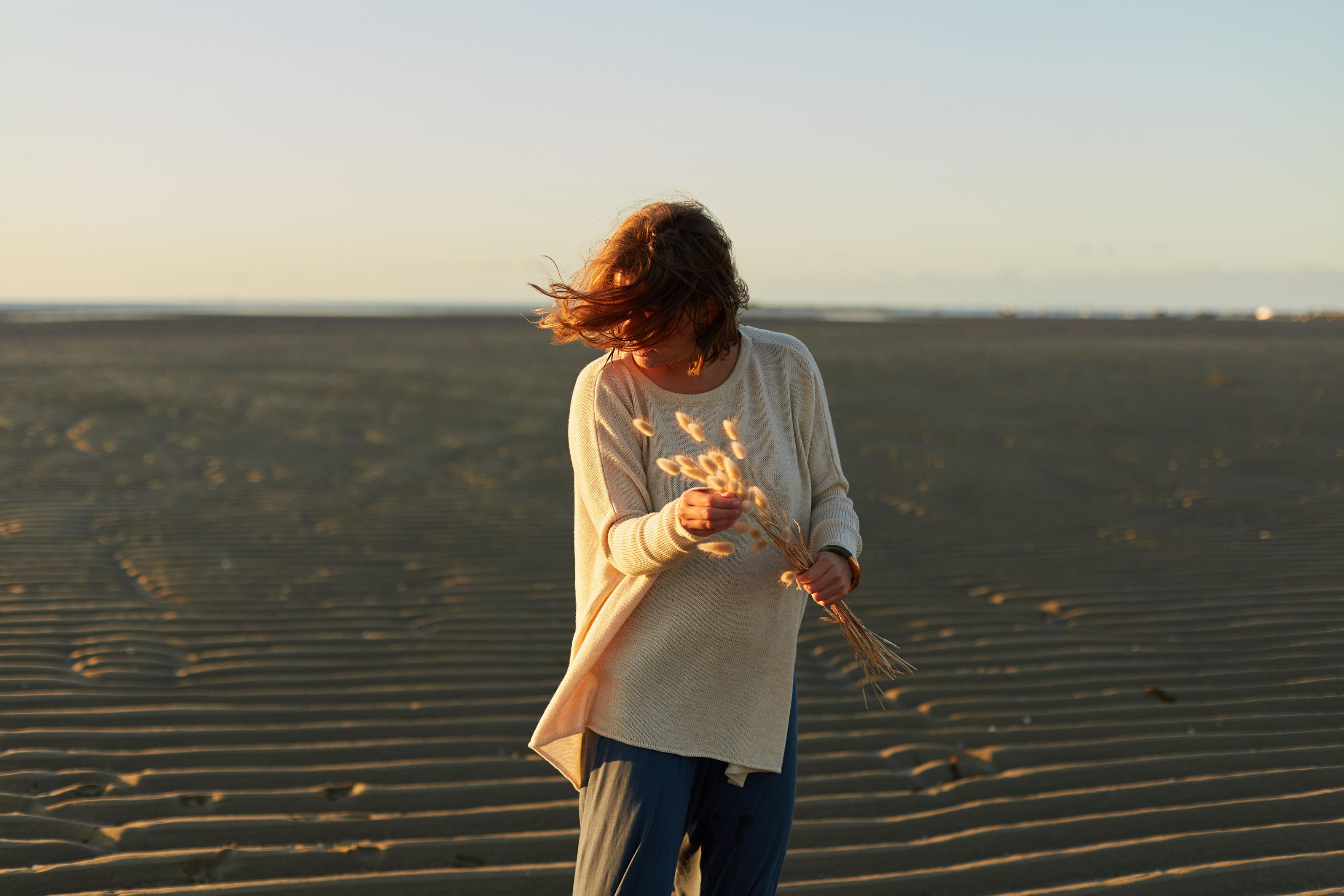 photos lifestyle et portrait pour Elizabeth Madoré à Carnac