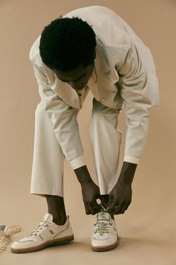 photographe mode en studio pour Umoja Shoes avec mannequins