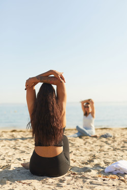 photographe professionnel ho karan press day lifestyle yoga
