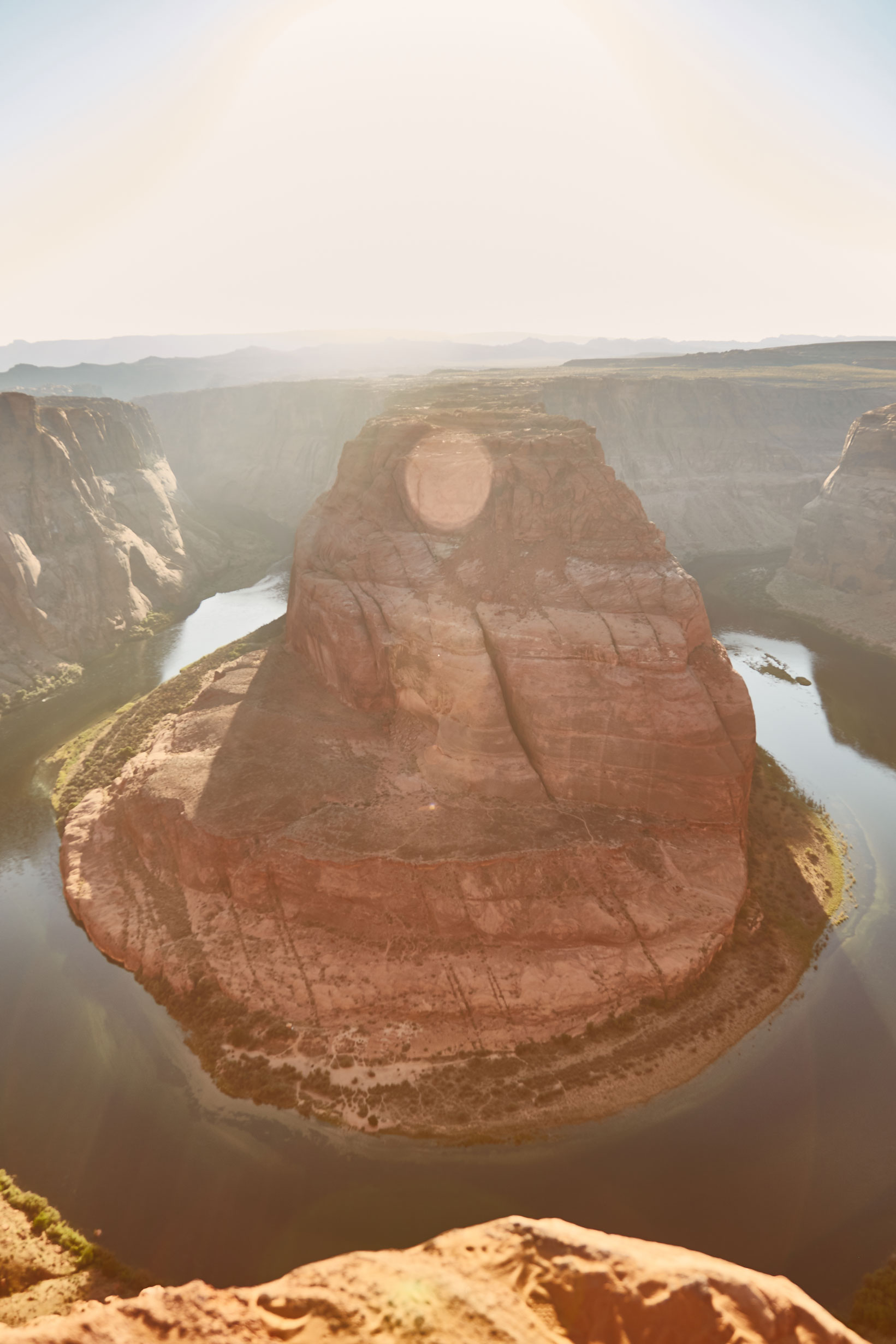 horseshoe bend usa photo