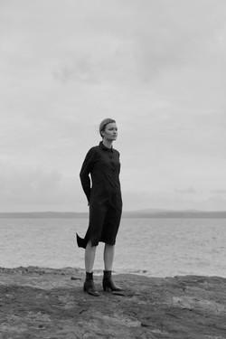 seance photo pour la collaboration nolwenn faligot et armor lux à Brest