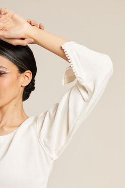 shooting photo eshop pour marque pret à porter avec mannequin et styliste en Bretagne