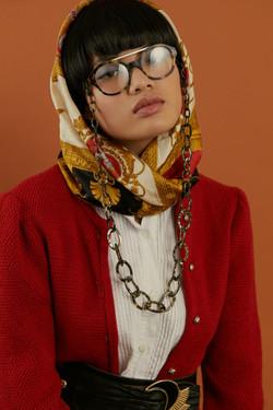 photographe de mode en studio pour campagne pour marque en bretagne